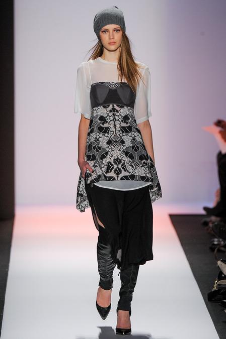 Bcbg max azria fall / winter collection - new york fashion week