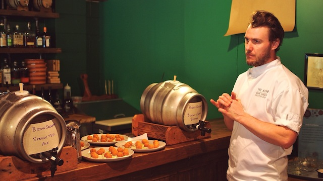 R&B Brewing Co.'s Chef Series | Campagnolo Upstairs