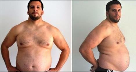 Un Entrenador Engorda con el motivo de demostrar que si se puede adelgazar… Mira el Resultado.