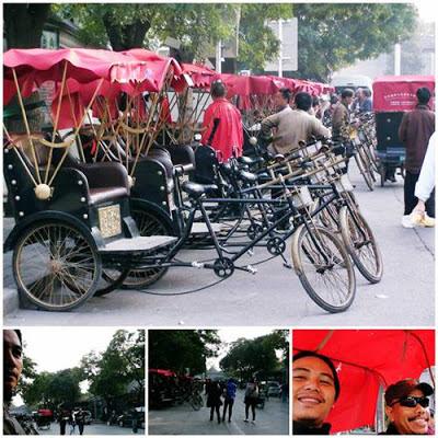 Pengalaman Menaiki Beca Di Huting Street, Beijing