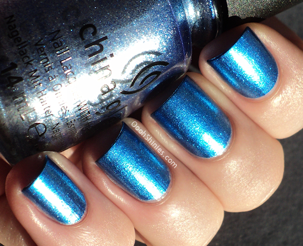China Glaze Blue Bells Ring