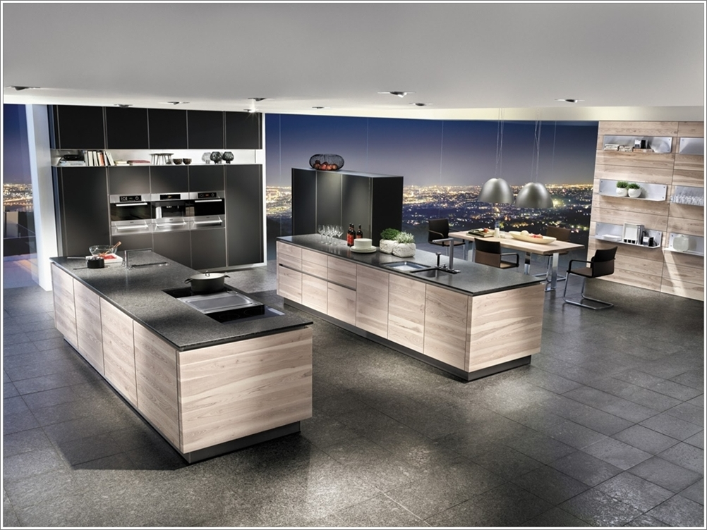 Cuisines double lots plus d 39 espace plus de plaisir for Ilot cuisine design