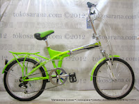 Sepeda Lipat United Quest C1.02 New 2014 with Carrier  20 Inci