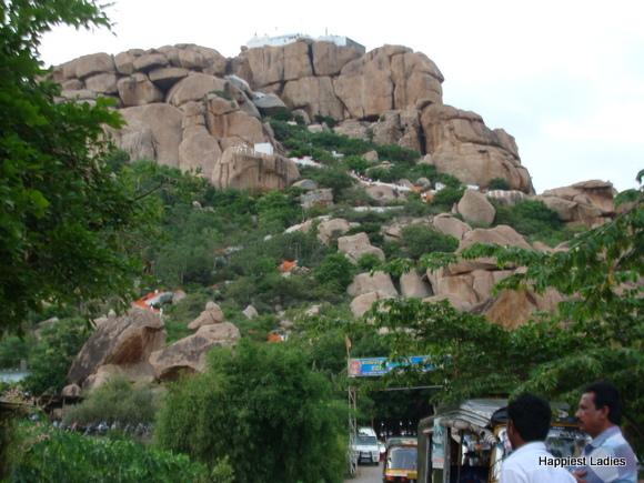 Anjeyanadri Hill Temple Anegundi