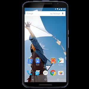 Google Nexus 6 (front)