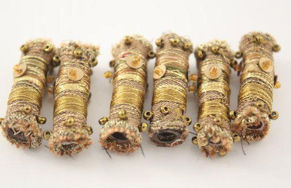 artystyczna bizuteria szmaciana diy