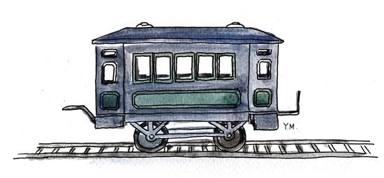 Wagon by Yukié Matsushita