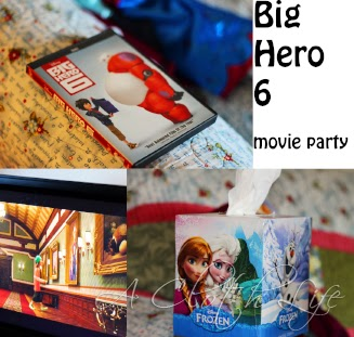 #DisneySide @Home Celebration Big Hero 6 viewing party