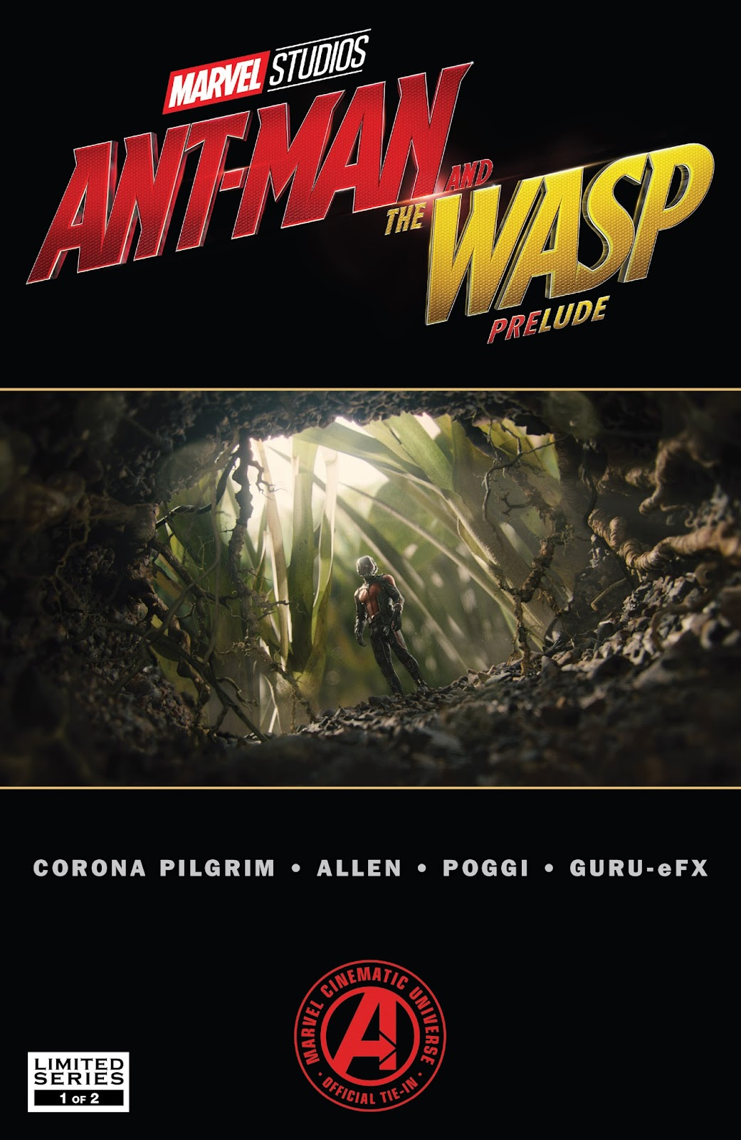 Marvel's Ant-Man and the Wasp Prelude 1 Page 1