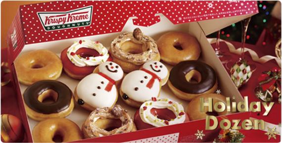 Krispy Kreme Japan Christmas Offerings Product Info