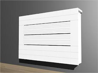 Como sacar partido a un radiador - Muebles para cubrir radiadores ...