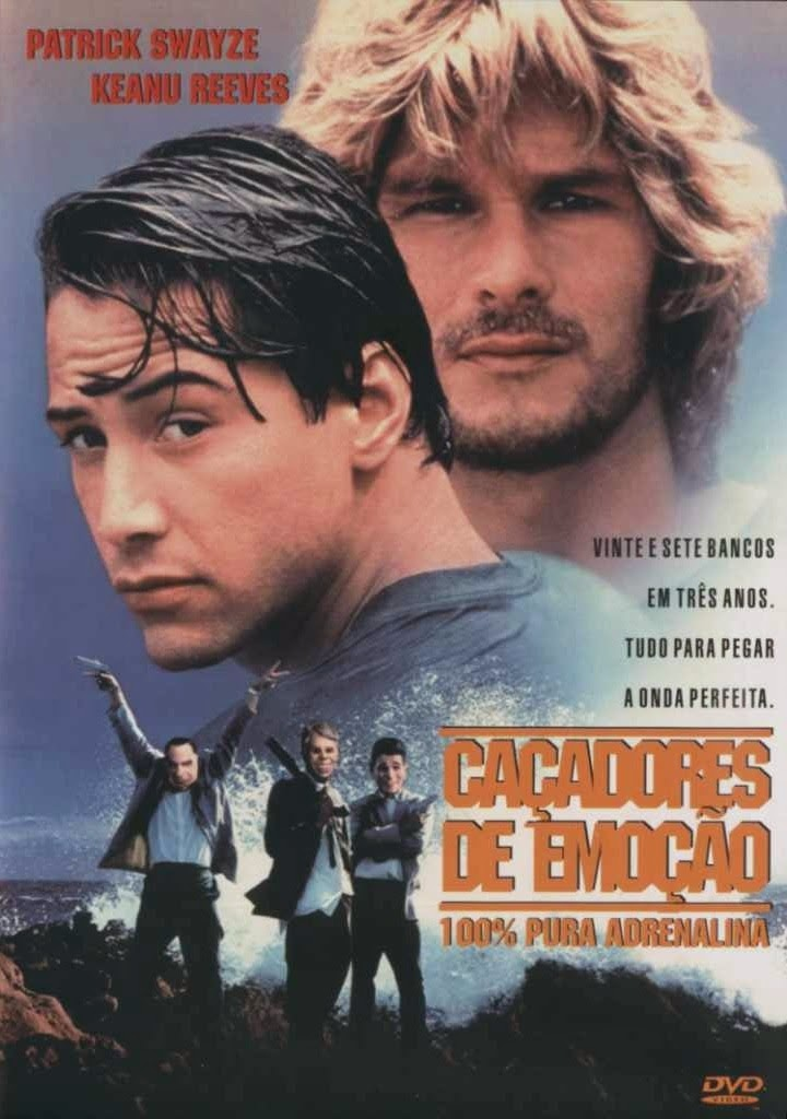 Caçadores de Emoção – Dublado (1991)