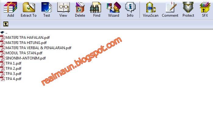 Download Kumpulan Materi Tpa Dan Try Out English 4 Tests