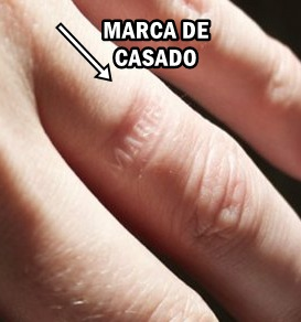 La marca del casado anillos sobaco global - Anillo de casado mano ...