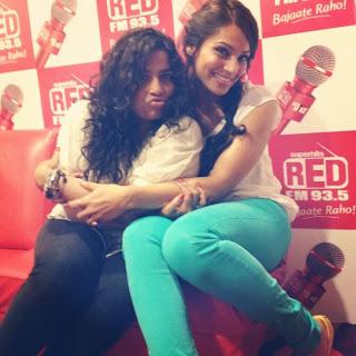 Bipasha Basu promotes Raaz 3 at different radio stations