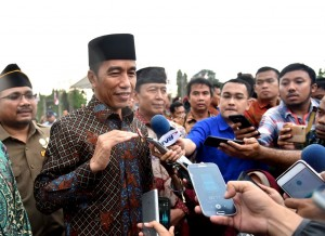 Presiden Jokowi : Aksi Esok Hari Sebagai Bentuk Solidaritas Dukung Palestina