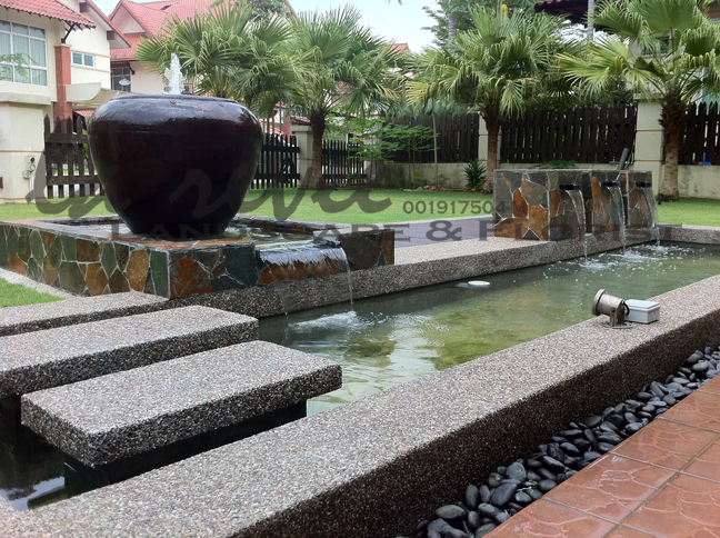Professional koi pond and landscape contractor for Koi pond specialist