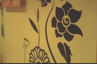 cómo pintar dibujos en la pared   facilisimo.com