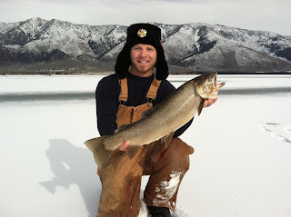 Ice fishing Idaho