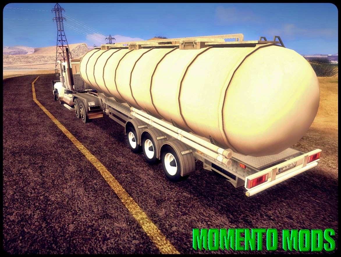 GTA SA - Trailers Do Euro Truck Simulator 2