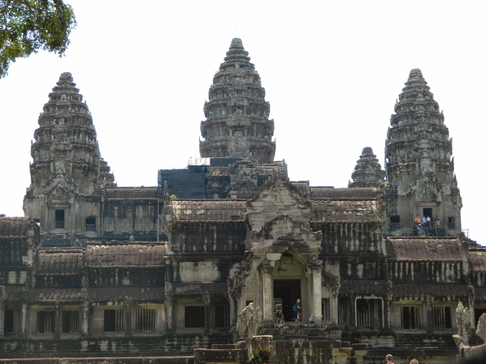 Upper galleries of the AngkorWat Temple