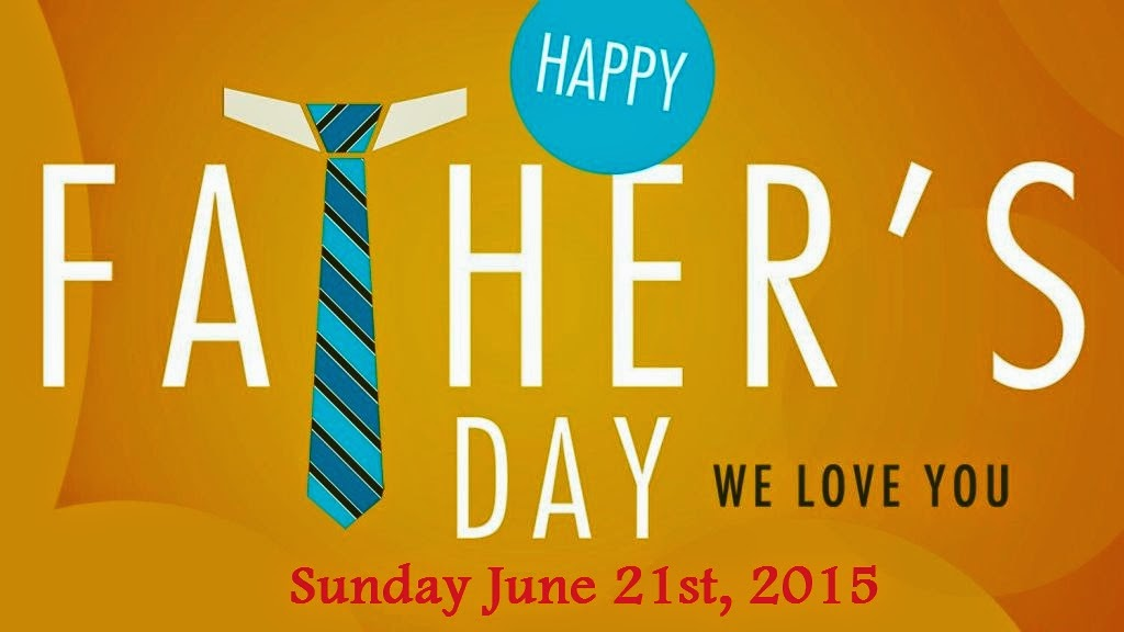 International Fathers Day Date in 2015
