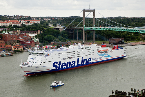 Stena Germanica ve švédském přístavu