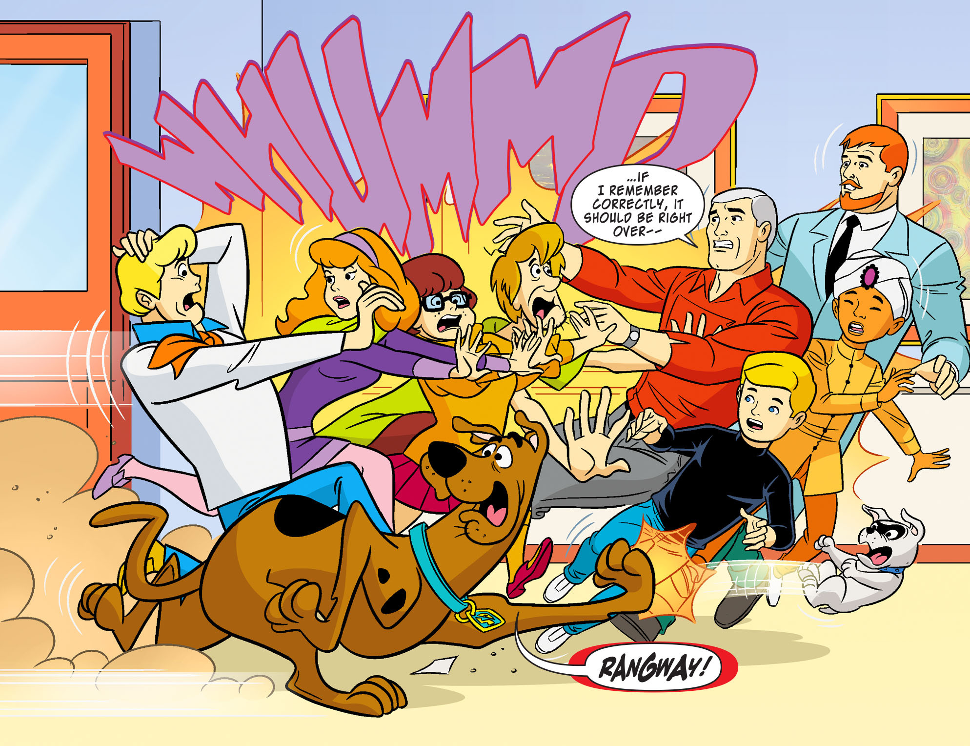 Read online Scooby-Doo! Team-Up comic -  Issue #19 - 5