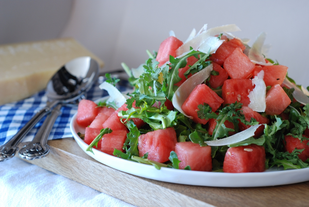 Simply So Good: Watermelon Arugula Salad