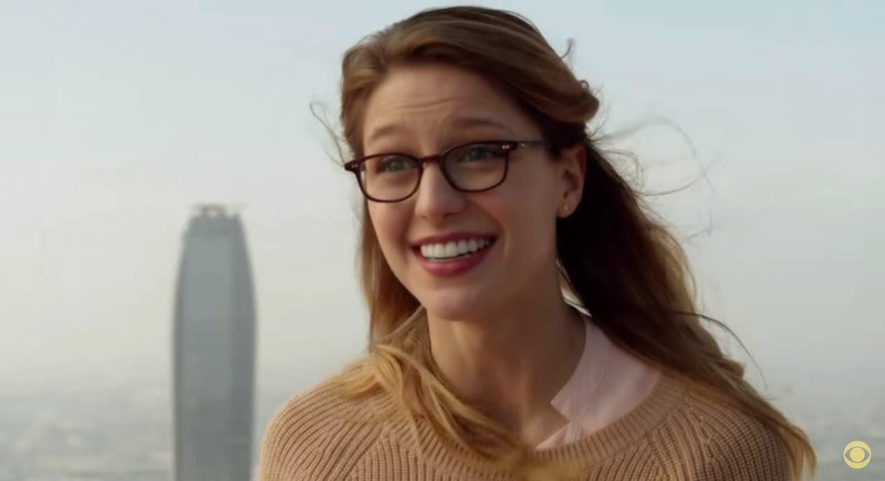 Melissa Benoist as Kara Zor-El in 2015 CBS Supergirl