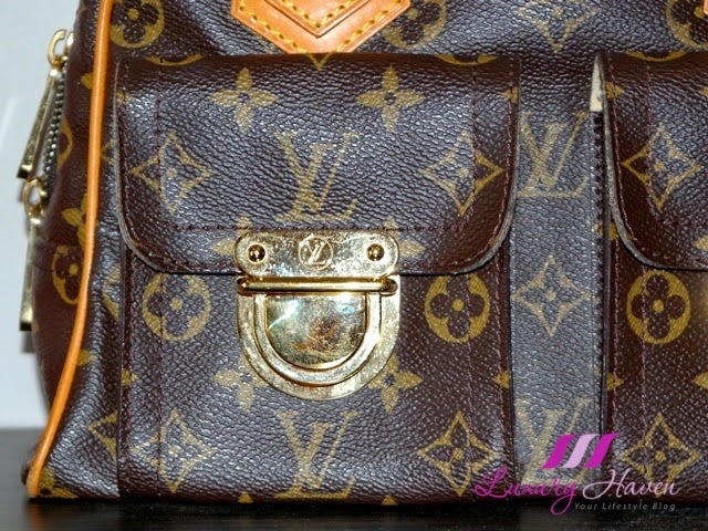 louis vuitton monogram manhattan reviews