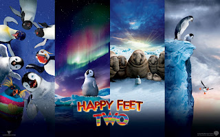 Happy Feet 2 Characters Poster HD Wallpaper
