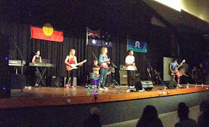 Red Comment at the Charters Towers Battle of the Bands