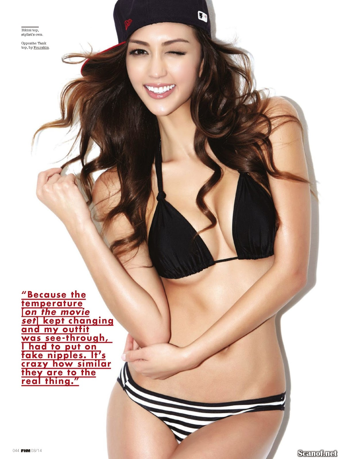 Jessica Cambensy for FHM Magazine Singapore, March 2014