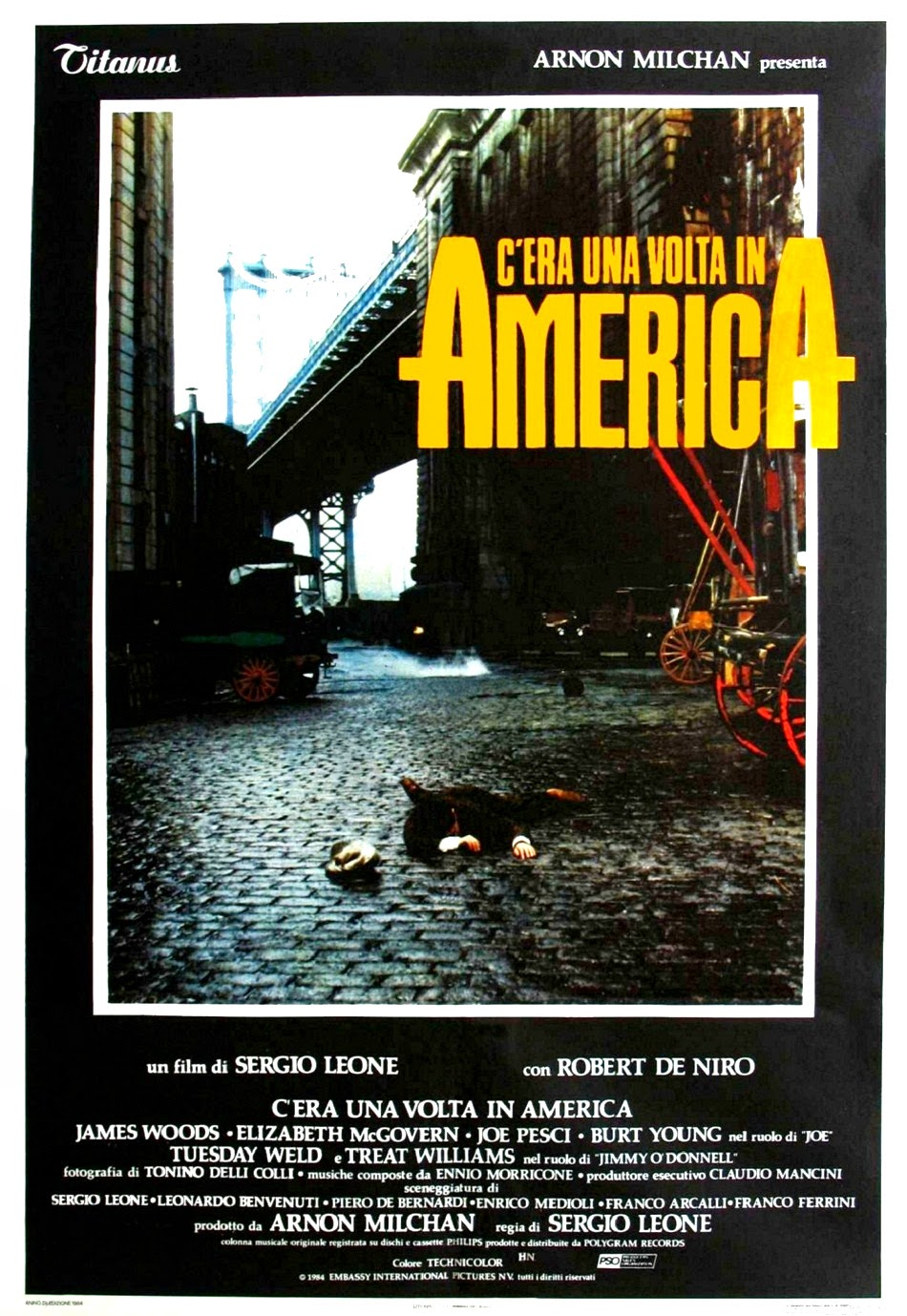 C'era una volta in America, Sergio Leone - http://clipcinema.blogspot.it