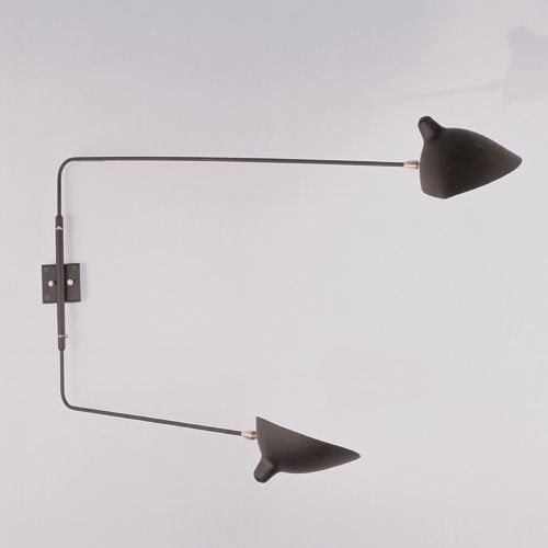 Let S Stay Industrial Long Swing Arm Light Fixtures