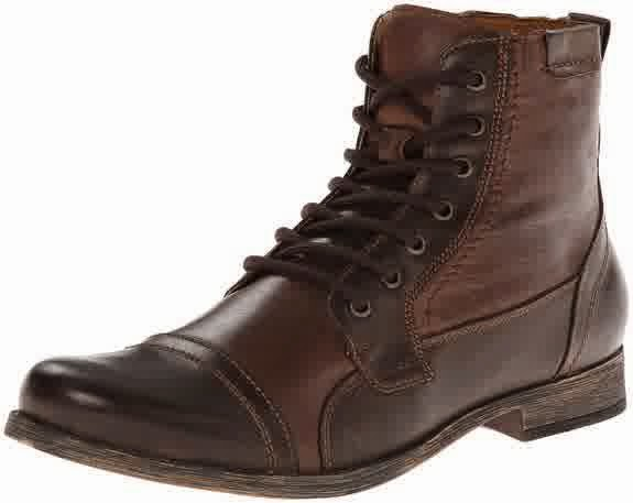 Steve Madden Men's Triggah Combat Boot Shoe