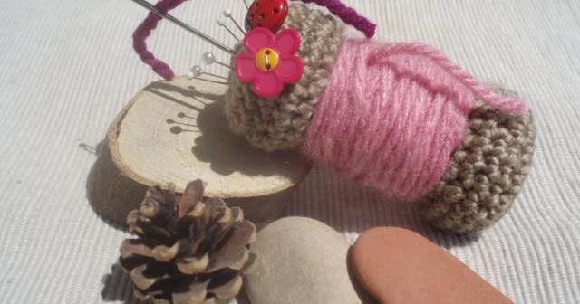 La ventana azul: 88.- Alfiletero a crochet - photo#22