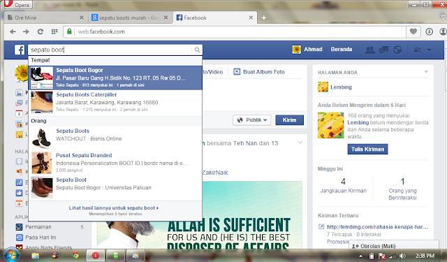 persaingan bisnis di facebook fb