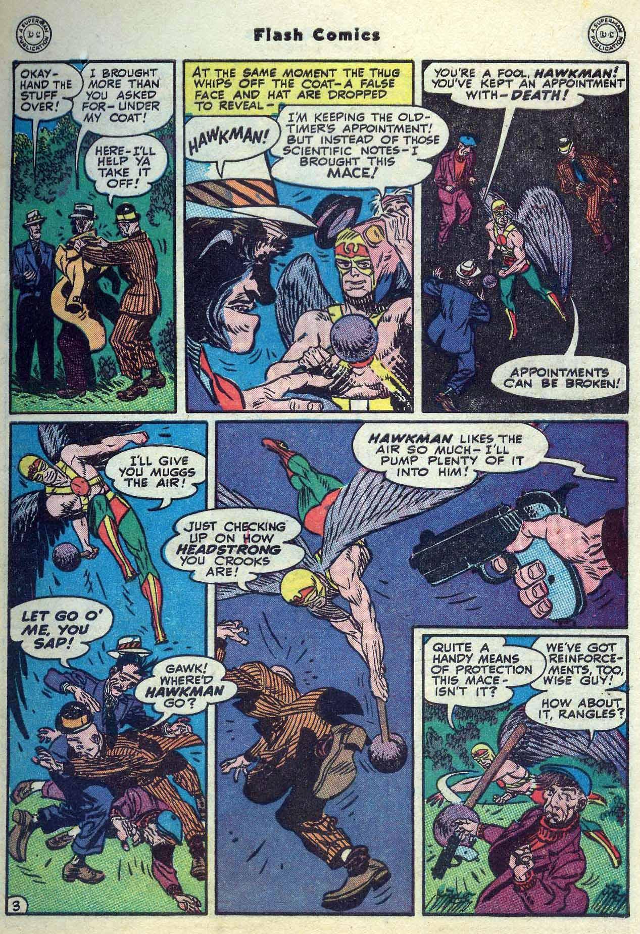 Flash Comics Issue #104 #104 - English 5