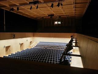 Wnętrze Europejskiego Centrum Muzyki K. Pendereckiego