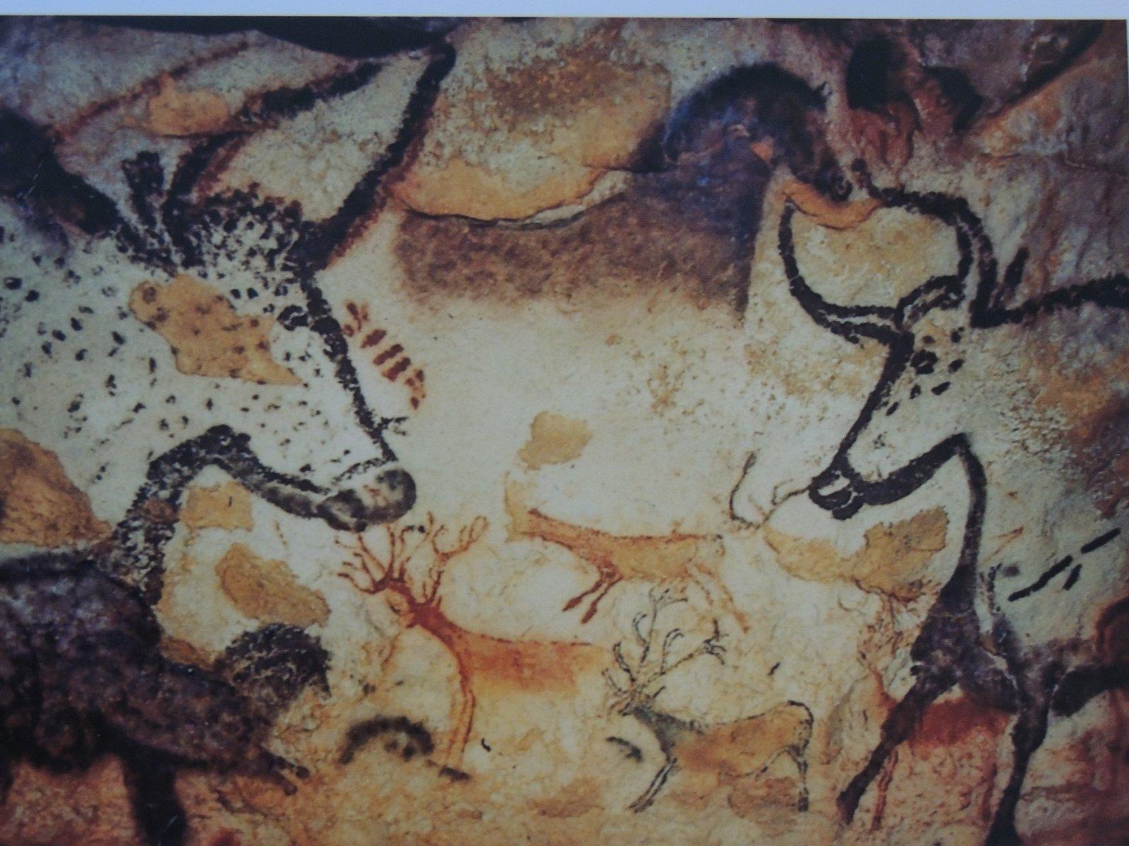 Cro Magnon Man Cave Art : The french connection take quot cro magnon caves lascaux ii