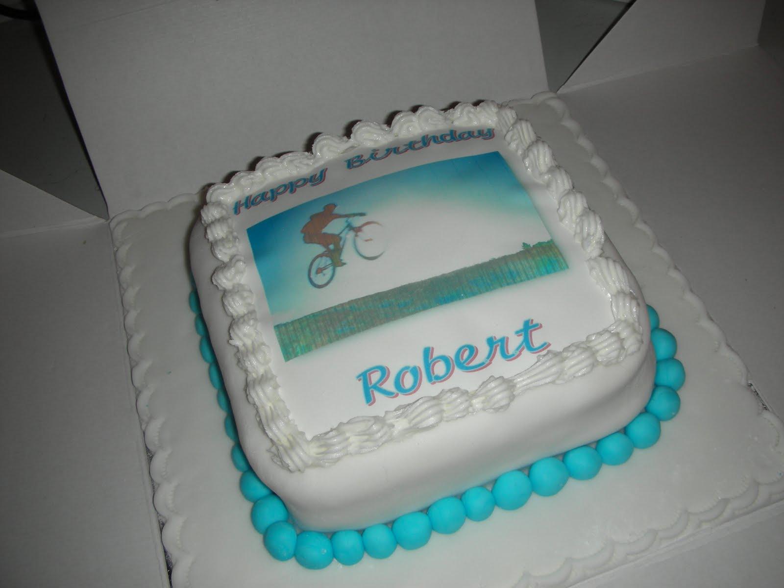Sues Cakes And Other Nonsense Mountain Bike Birthday Cake