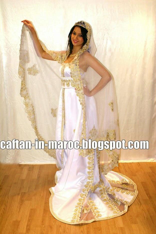 caftan mariage sur mesure