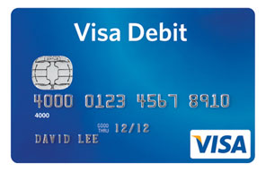 visa credit debit