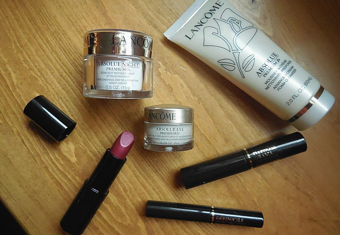 Nordstrom Beauty Haul : Lancome Skincare + Gift with Purchase ...