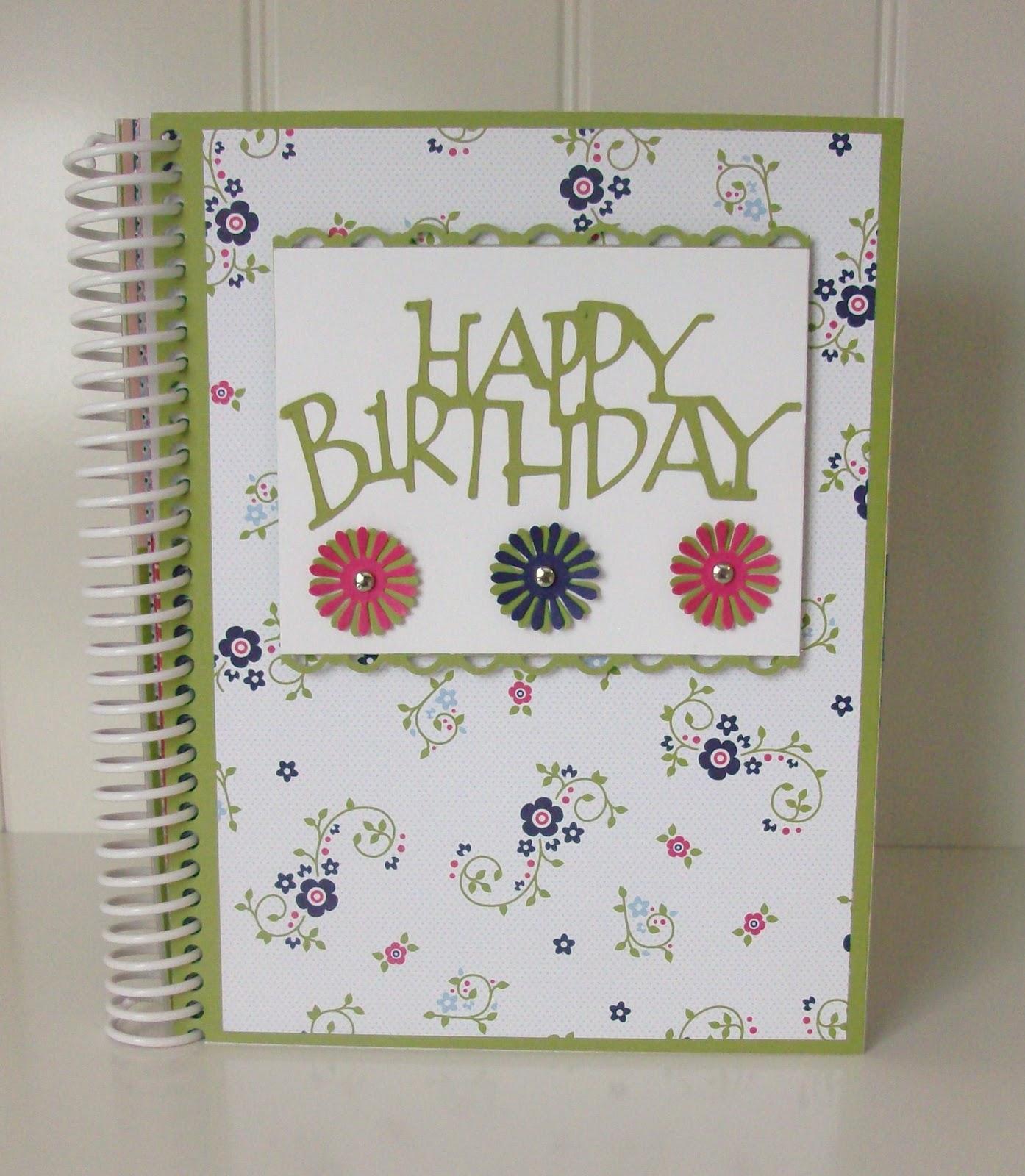 Paper Cuts: BIRTHDAY CARD ORGANIZER