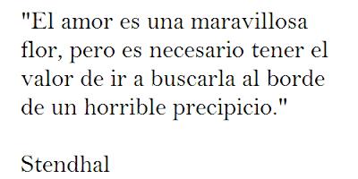 Frases celebres de Stendhal