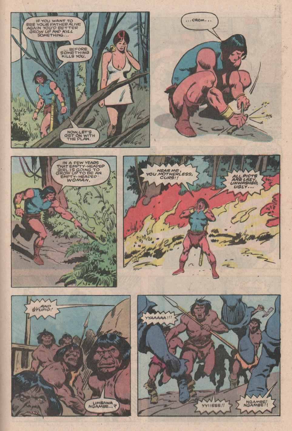 Conan the Barbarian (1970) Issue #172 #184 - English 16