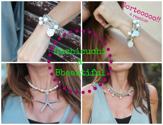 Sorteo - Cuchicuchi Bisutería - cuchicuchi joyas - fashionblogger